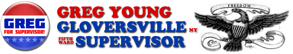 Greg Young – Gloversville NY Fifth Ward Supervisor